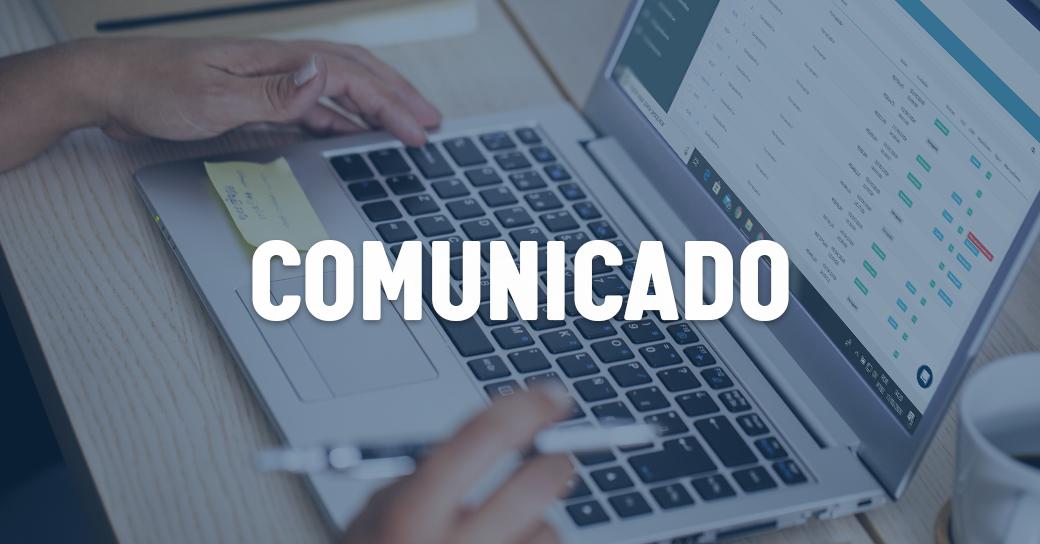 Comunicado - Equipe em Home Office