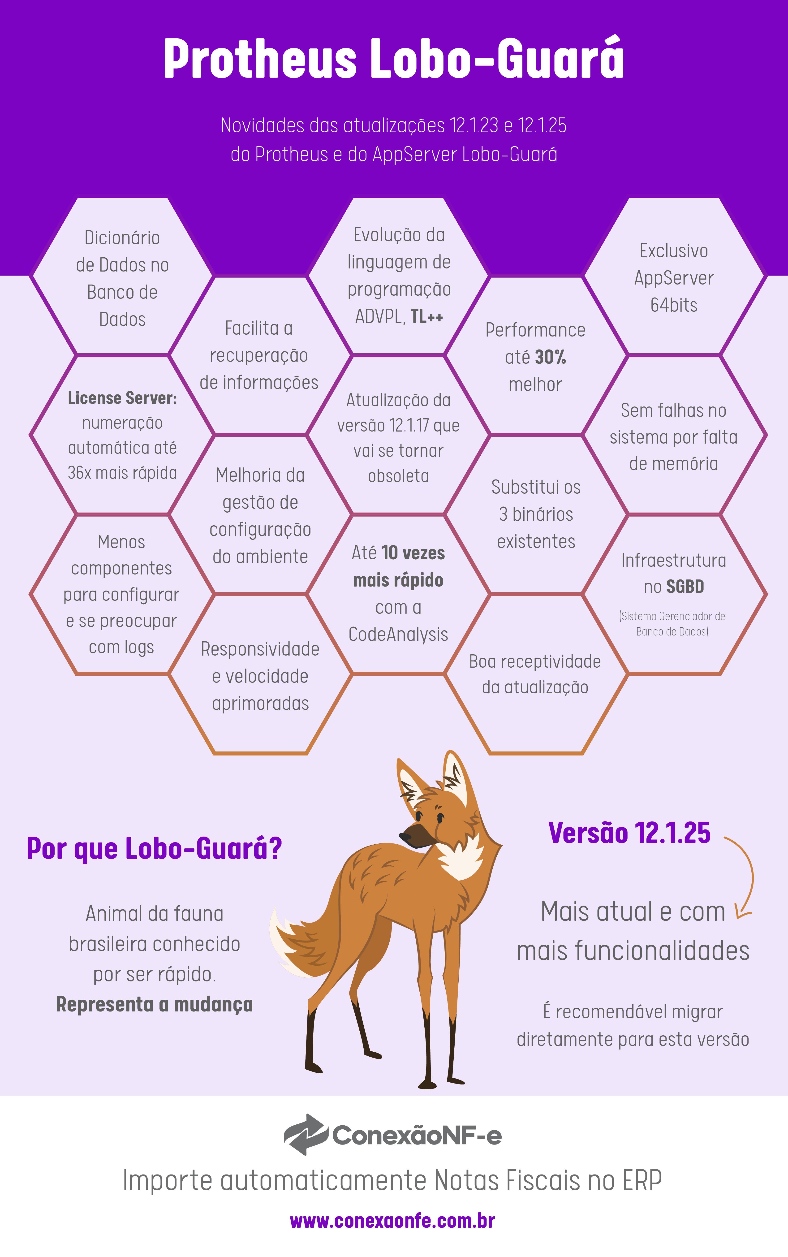protheus lobo guara infografico